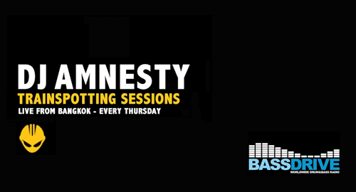 DJ Amnesty - Trainspotting Sessions # Bassdrive [09.02.2017]