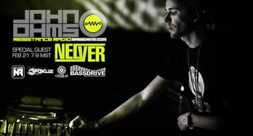 Nelver - Resistance Radio, Live # Bassdrive [22.02.2014]