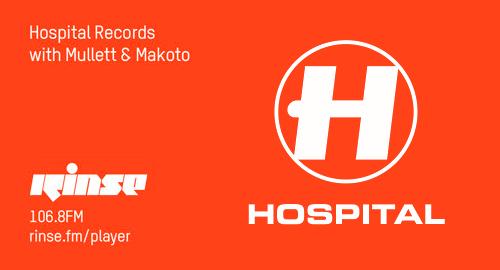 Makoto, Tom Mullet - Hospital # Rinse FM [23.08.2017]
