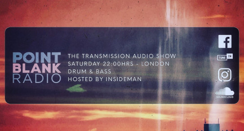 The Transmission Audio Show - Hosted by Insideman: Point Blank FM London: 12th June 2021