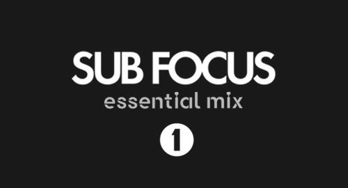 Sub Focus - Essential Mix # BBC Radio 1 [25.04.2009]