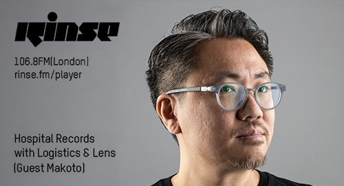 Logistics, Lens & Makoto - Hospital Records # Rinse FM [25.09.2019]
