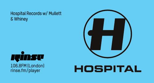 Whiney, Tom Mullet - Hospital # Rinse FM [26.07.2017]
