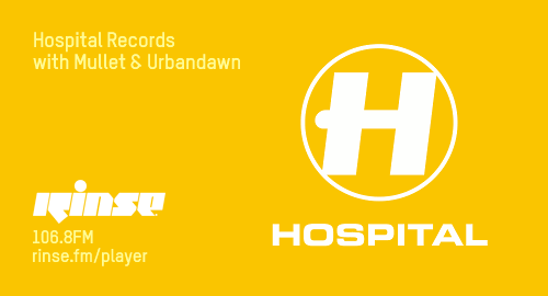 Urbandawn, Tom Mullet - Hospital # Rinse FM [22.11.2017]