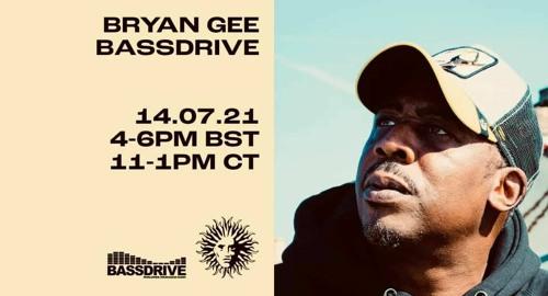Bryan Gee - Live @ Bassdrive [Oct.2021]