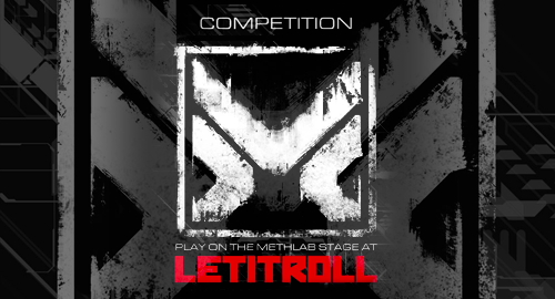 Displaced Paranormals - Methlab Competition Mix # Let It Roll [July.2018]