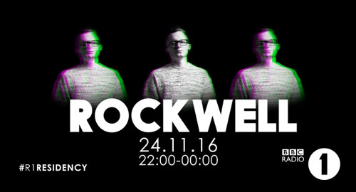 Rockwell - BBC Radio 1's Residency [24.11.2016]