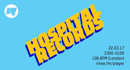 Hospital Records - Rinse FM Podcast [23.03.2017]