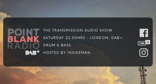 The Transmission Audio Show - *Classics from the 00's*: Point Blank DAB+ London: 4th September 2021