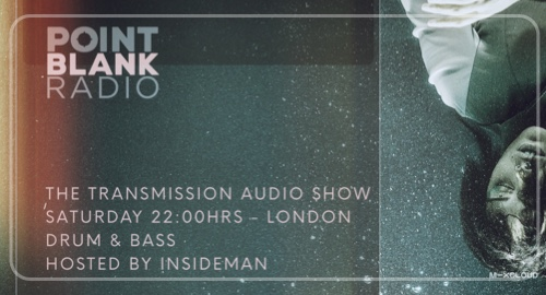 The Transmission Audio Show - Hosted by Insideman: Point Blank FM London: 10th April 2021