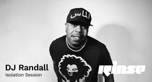 DJ Randall - Isolation Session # Rinse FM [30.03.2020]