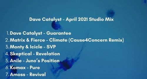 Dave Catalyst - Studio Mix [April.2021]