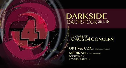 Optiv & CZA - 20 Years of C4C Label Night, Live at Dachstock [26.01.2019]