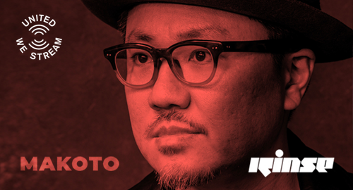 Makoto - United We Stream # Hospital Records live from The Cause, Rinse FM [24.10.2020]