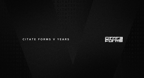 Citate Forms 5 Years Mix [Nov.2020]