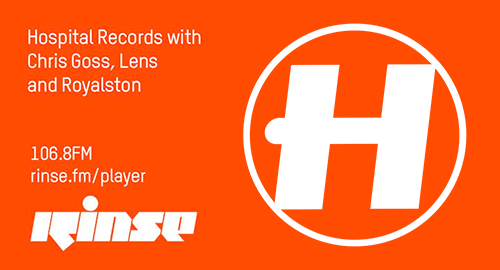 Chris Goss, Lens and Royalston - Hospital # Rinse FM [23.10.2019]