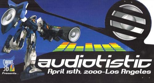 Ed Rush - Live at Audiotistic [April.2000]