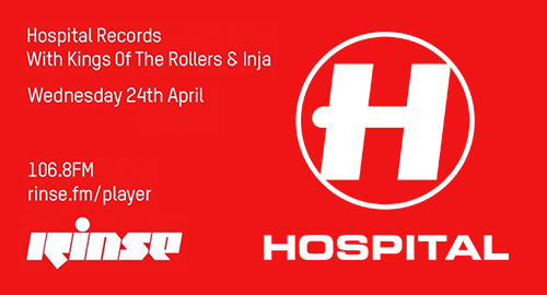 Kings Of The Rollers & Inja - Hospital Records # Rinse FM [24.04.2019]