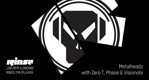 Zero T, Phase & Visionobi - Metalheadz # Rinse FM [21.02.2018]